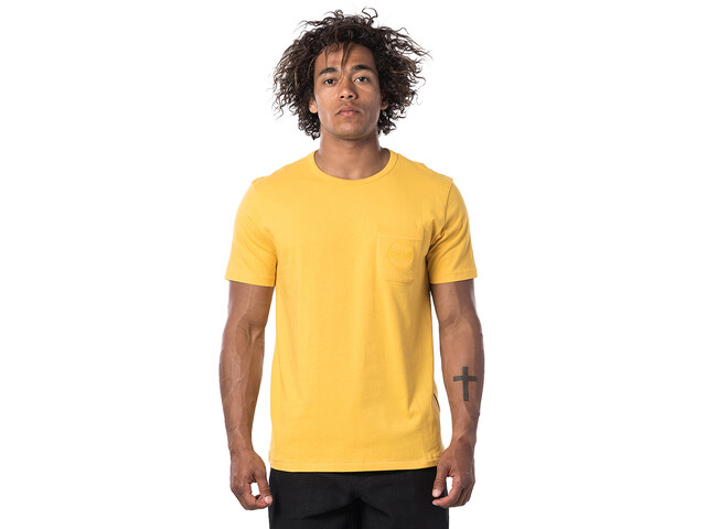 Rip Curl Eco Craft T-shirt Heren, washed yellow
